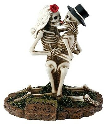 Love Never Dies Collectible Skeleton Sculpture
