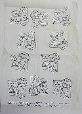 vintage embroidery iron on transfer, handsewing, needlepoint (29)