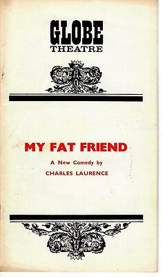 My Fat Friend - 1972 West End Theatre program