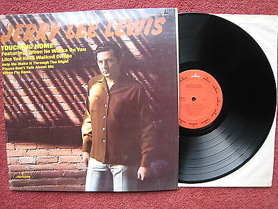 Jerry Lee Lewis - Touching Home. 1971 US Rockabilly LP. VG++/EX