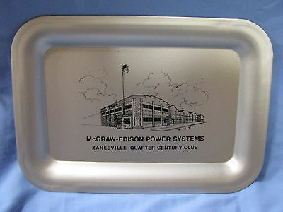 Mcgraw Edison Power Systems Zanesville Oh Metal Tip Tray Transformers