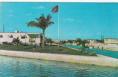 KEY WEST , Florida , 1950-60s ; Tamarac Park Mobile Home / Trailer subdivision