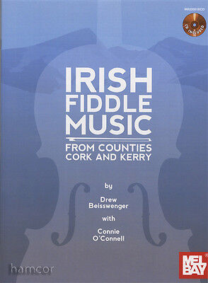 Irish Fiddle Music from Counties Cork & Kerry Violin Sheet Music Book & CD