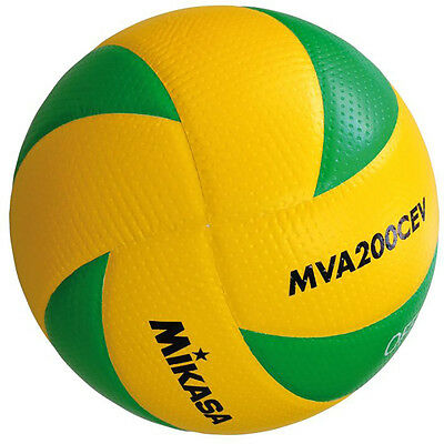 MIKASA Volleyball MVA 200 CEV indoor Spielball Champions League 1162 Gr. 5 | NEU