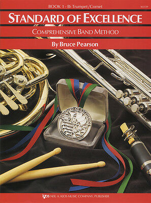 Standard of Excellence 1 Bb Trumpet/Cornet Music Book Comprehensive Band Method