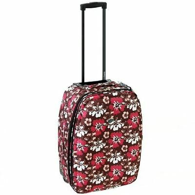 Compass 43cm Travel Cabin Wheeled Holdall Suitcase Hand Luggage Case Bag