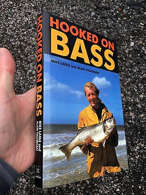 HOOKED ON BASS   First Edition ALAN VAUGHAN & MIKE LADLE Excellent Condition