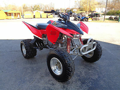 2012 Honda 400X Sport Quad 5-speed with Reverse DG Exhaust & Front Bumper