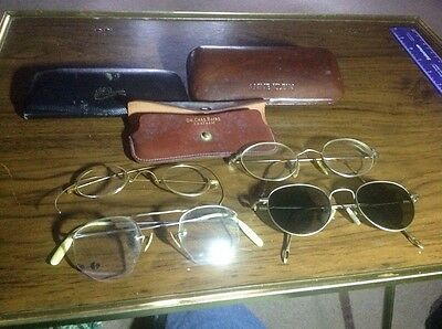 Set Of Four Vintage Eyeglasses