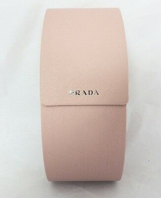 Prada Sun Glass Case Pink Authentic   Brand New Free Shipping