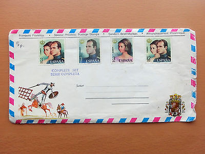 Complete Set of 3pts and 12pts Spanish stamps