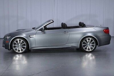 2011 BMW M3  V8 Convertible SMG Heated Seats HD Audio/Satellite NAVIGATION 19's 1-OWNER