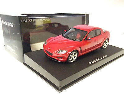 Auto Art Slot Racing Velocity Red Mazda RX-8 (runs on Scalextric)