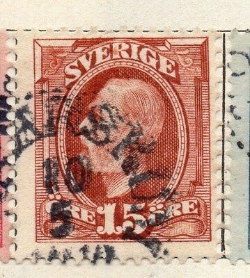 Sweden 1891-1903 Early Issue Fine Used 15ore. 123275