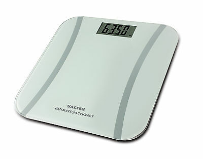 Salter Ultimate Accuracy Digital Bathroom Scales - White - 9073 WH3R