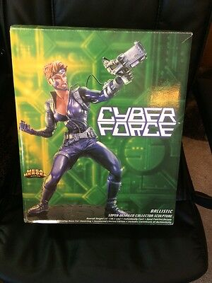 """1995 Cyberforce Ballistic Sculpture 15"""" Tall With Certificate Of Authenticity"""