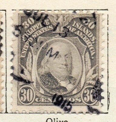 Philippine Islands 1908 Early Issue Fine Used 30c. 123424