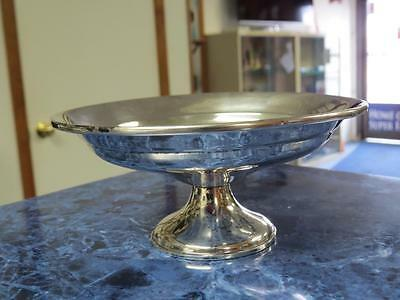 Vintage Reed & Barton Sterling Silver Weighted Candy Dish