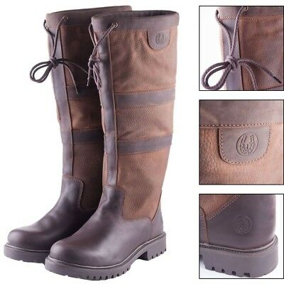 Rydale Tullymore Classic Leather Riding Boot Equestrian Country Footwear