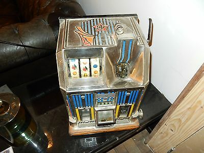 Jackpot Machine A Sous Jennings Art Deco 1932 Casino