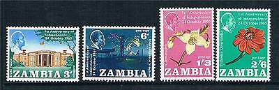 Zambia 1965 1st Anniv.of Independence SG112/5  MNH