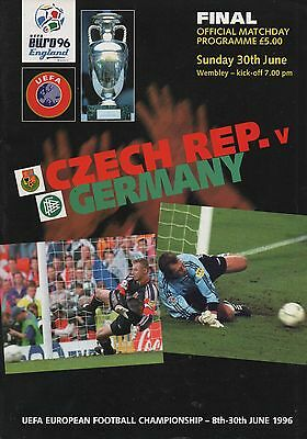 1996 Czech Republic v Germany  (EURO 96 Final)