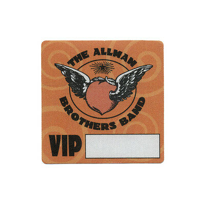 Allman Brothers authentic VIP 2005 tour Backstage Pass