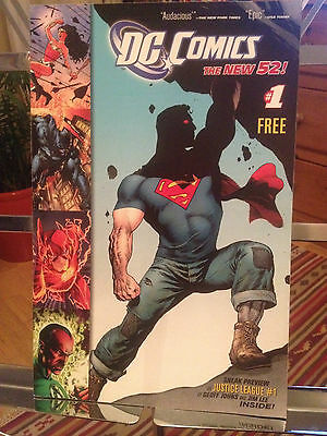 Dc Comics The New 52 1 Preview - Rare - Ex First Print - Justice League 1