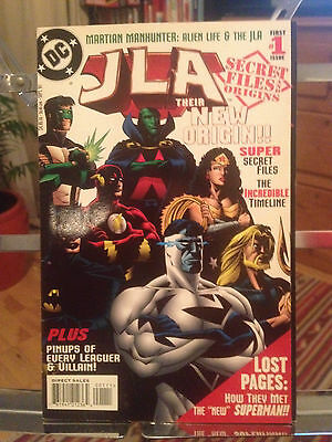 Jla Secret Files And Origins First Issue - Ex First Print 1997