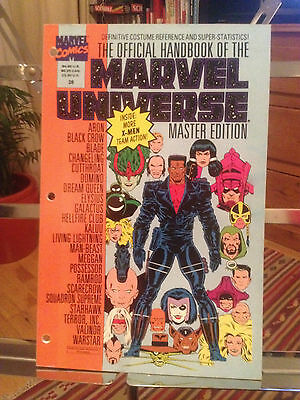 The Official Handbook Of The Marvel Universe Vol 3 N0.28 - Ex First Print 1993