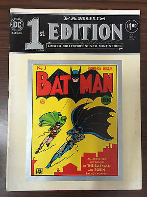 Famous First Edition Batman #1-1975-DC Treasury comic