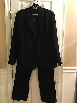 Mimi Maternity A Pea In The Pod Black Pant Jacket Suit Set Size Medium