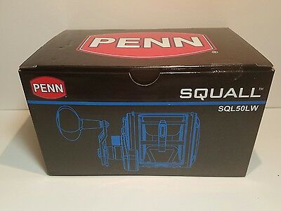 penn squall 50LW new in sealed box