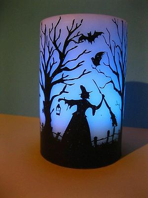 Yankee Candle Halloween LED Changing Color Tower Witch
