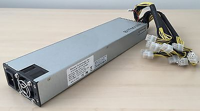 Bitmain PSU for Antminer S9 or S7 - APW3-12-1600-B2 Power Supply 10x PCI-E