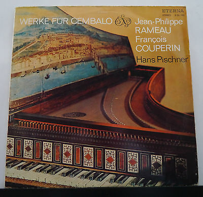 LP H.Pischner Cembalo - Couperin/Rameau/Couperin - Eterna 826195