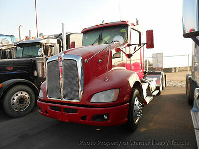 2013 Kenworth T660 Day Cab Cummins Isx 450Hp 10 Speed Transmission