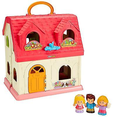 NEW Little People Surprise & Sounds Home Dollhouse Touch Sing Pretend Play DFN41