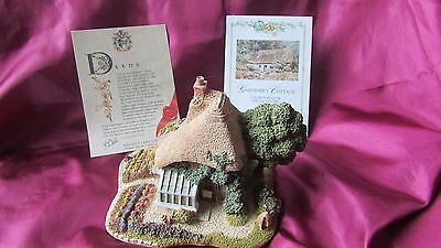 Lilliput lane cottage gardeners cottage with deeds and coa