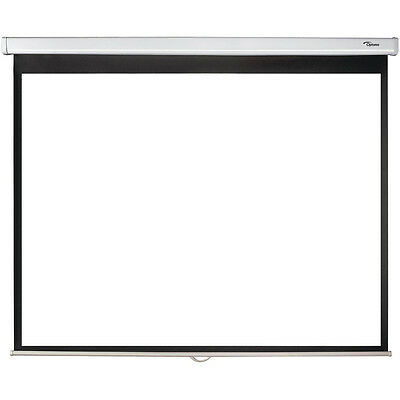 Optoma Panoview DS-3084PMG 84 Inch 4:3 Manual Pull-Down Projector Screen