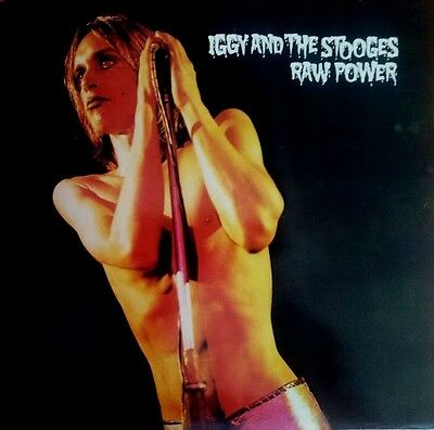 Iggy And The Stooges Raw Power Lp Cbs Red Label Uk Neu David Bowie