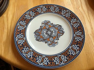 Celtic design hand drawn limited edition plate