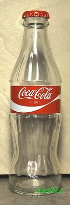 Coca-Cola glass bottle 250ml from Russia 2016