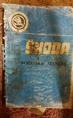 skoda workshop manual for 110, 110L, 110LS & R