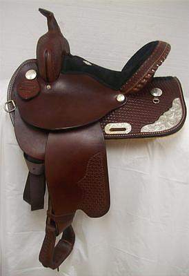 "Dakota 325C - 14"" Custom Barrel/Show Saddle-Full Quarter Horse Bar - New 1 Only"