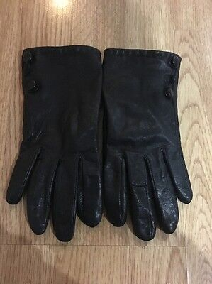 Accessorise Leather Gloves s