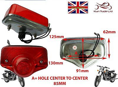 ROYAL ENFIELD BULLET STANDERD 350cc/500cc BACK REAR TAIL LIGHT LAMP KIT