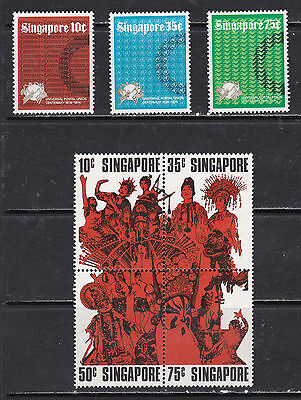 Singapore Mint Stamp Sets  (Si13013)