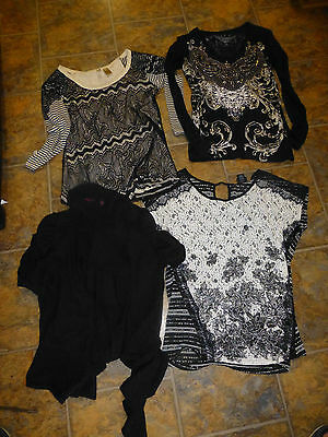 Lot of 4 Tops/shirts from the Buckle