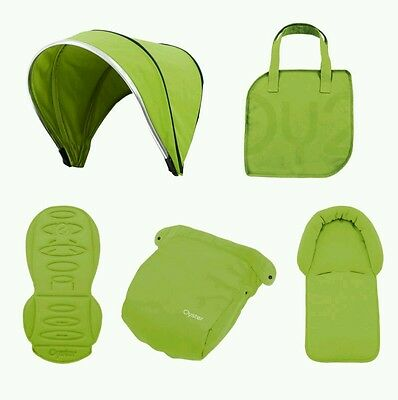 NEW BabyStyle Oyster 2 / Max Colour Pack in Lime Green